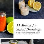 11 Mason Jar Salad Dressings