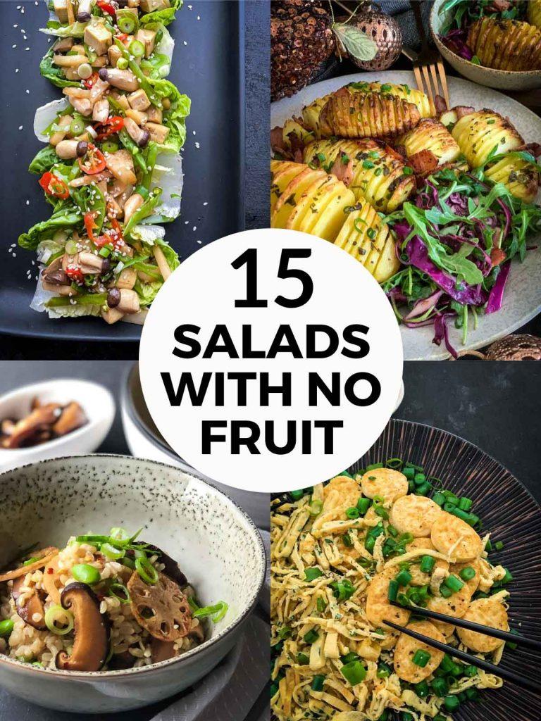 15 Salads with No Fruit