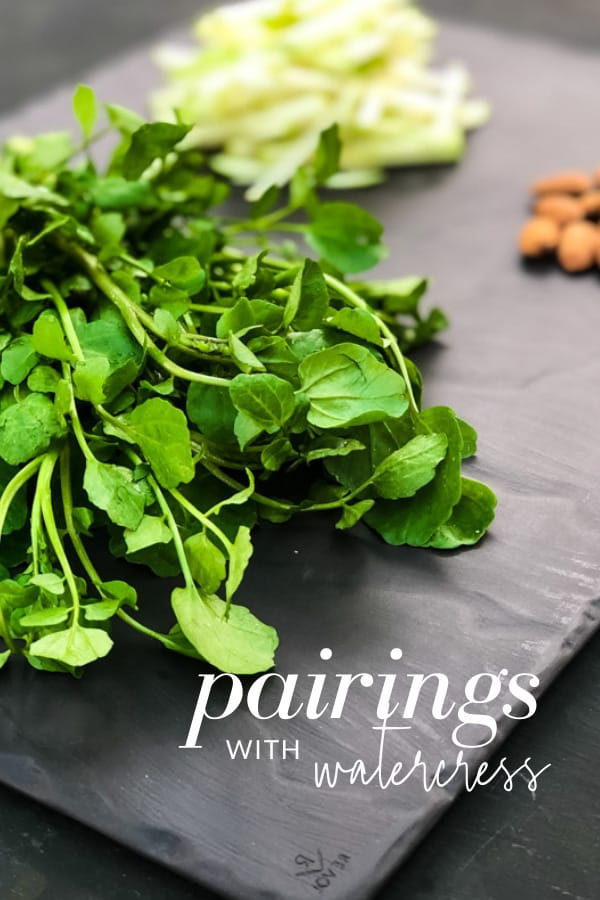What Goes with Watercress