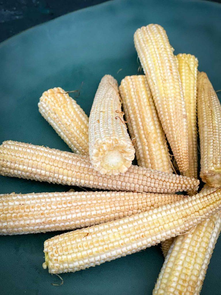 Baby corn spears