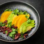 Mango Avocado Salad with Crispy Chorizo