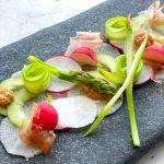 Shaved Asparagus and Daikon Salad