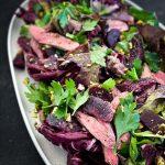 Lamb Steaks Salad
