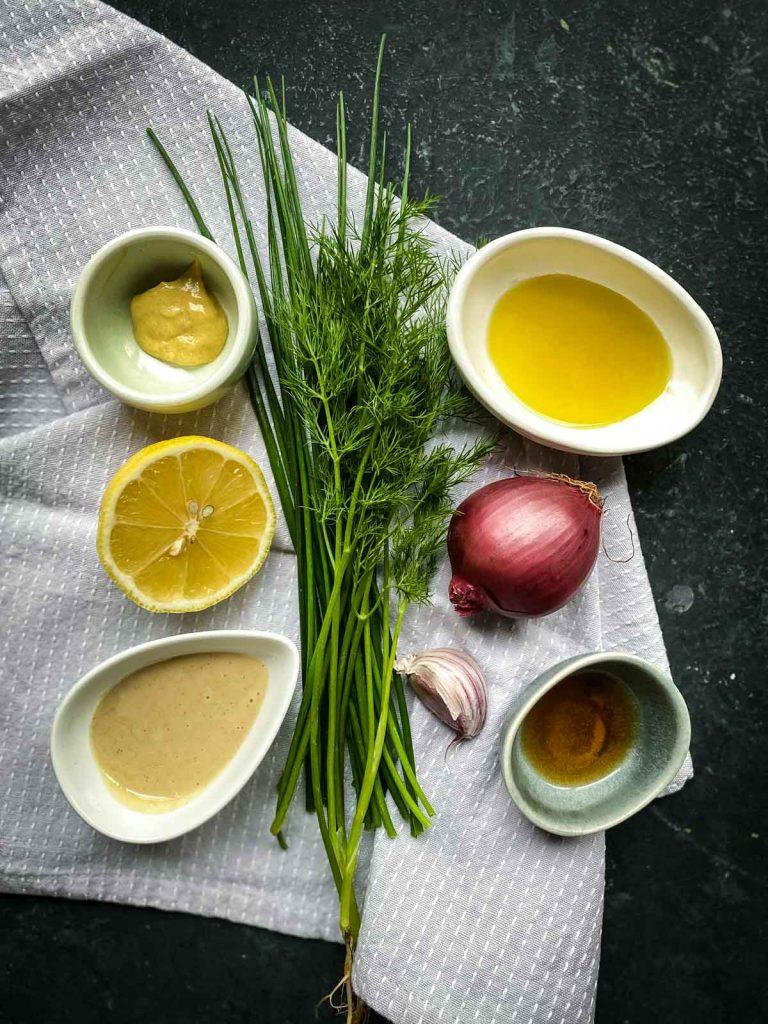 Tahini Ranch Dressing Ingredients