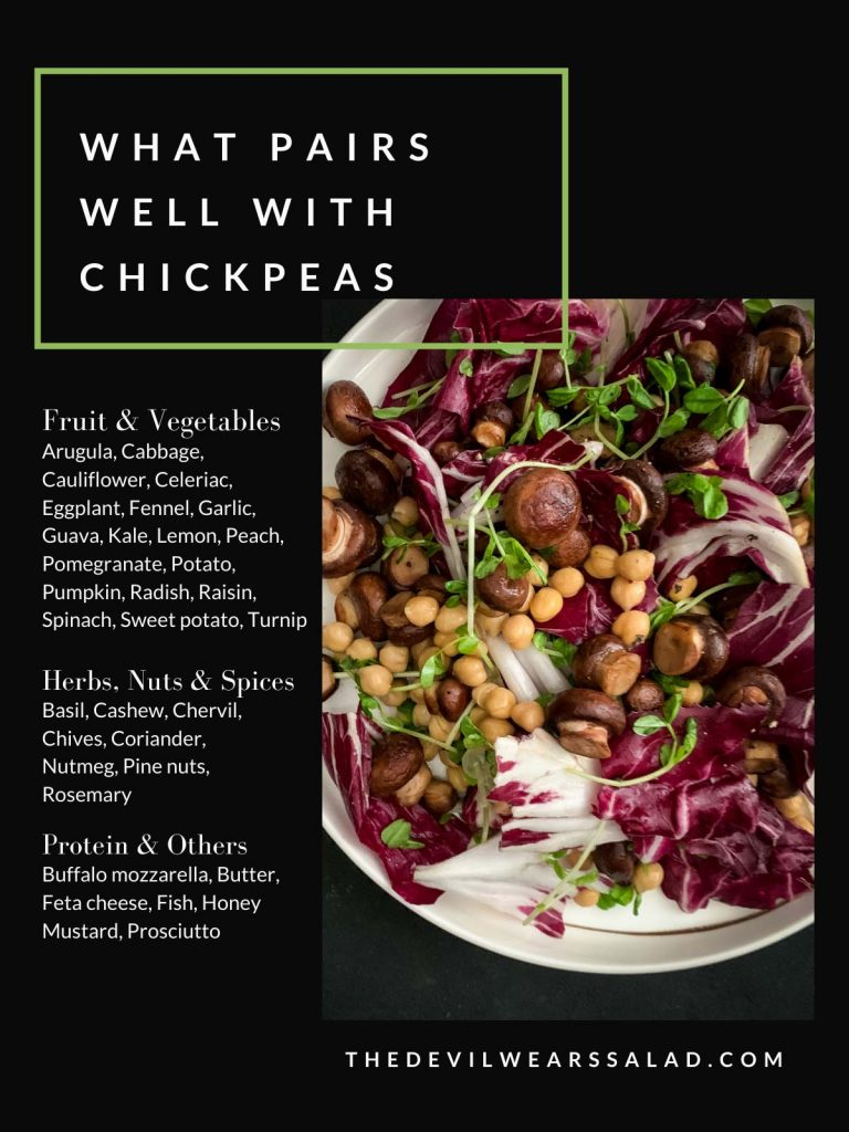 What Goes with Chickpeas