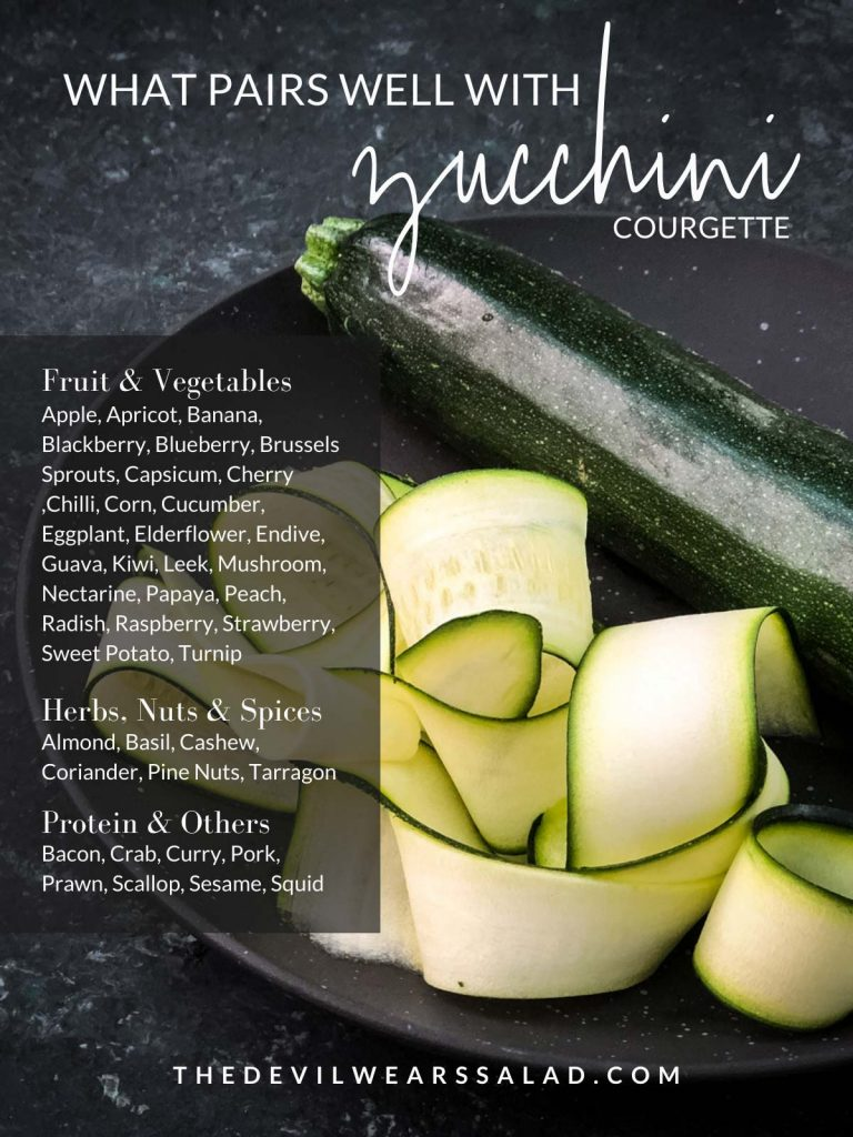 What Goes with Zucchini