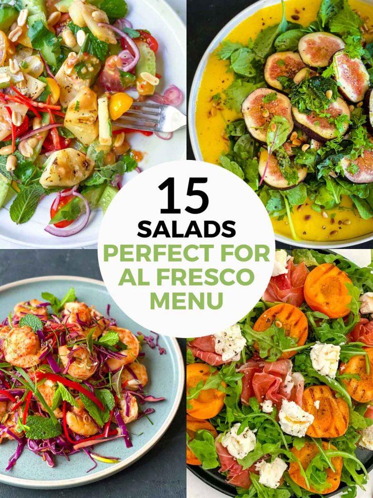 Salads for Al Fresco Menu