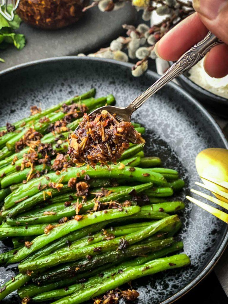 Lemongrass Chilli Green Beans Stir Fry