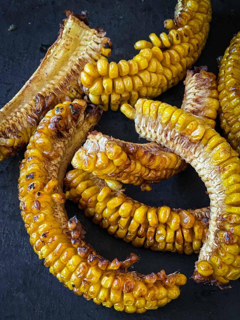 Deep fried corn ribs.