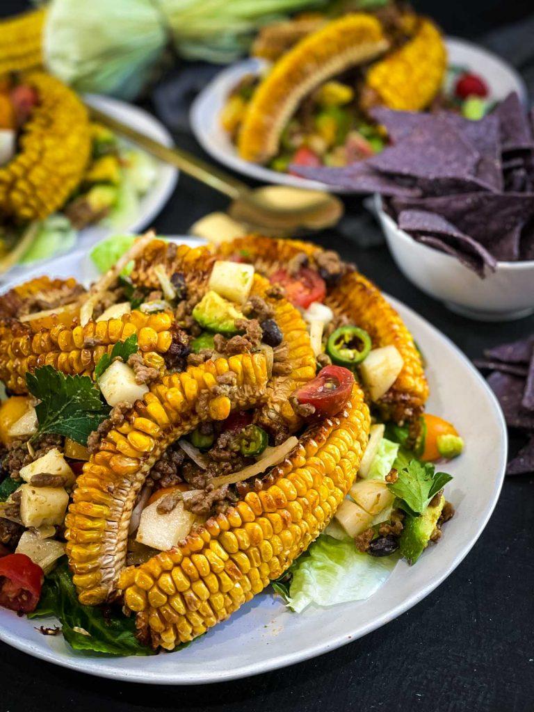 Taco Salad with Catalina Dressing