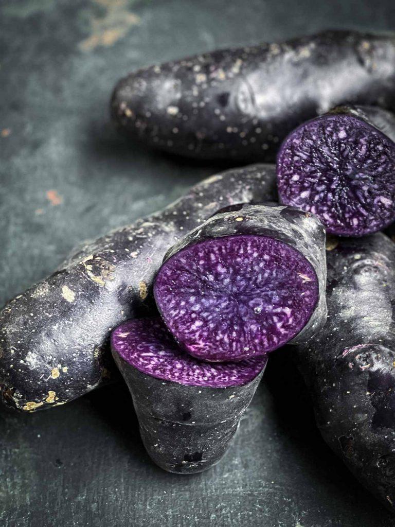 Purple Mashed Potatoes The Devil Wears Salad