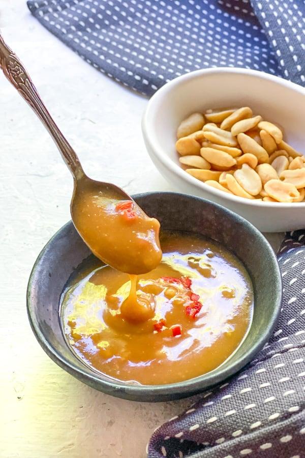 Spicy Peanut Dressing