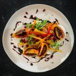 Tree Tomato Salad with Kohlrabi