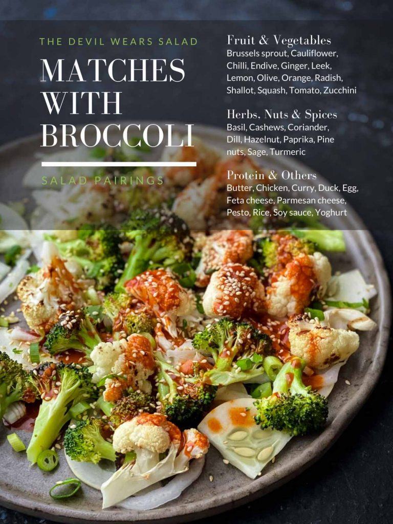 What Goes Well with Broccoli?