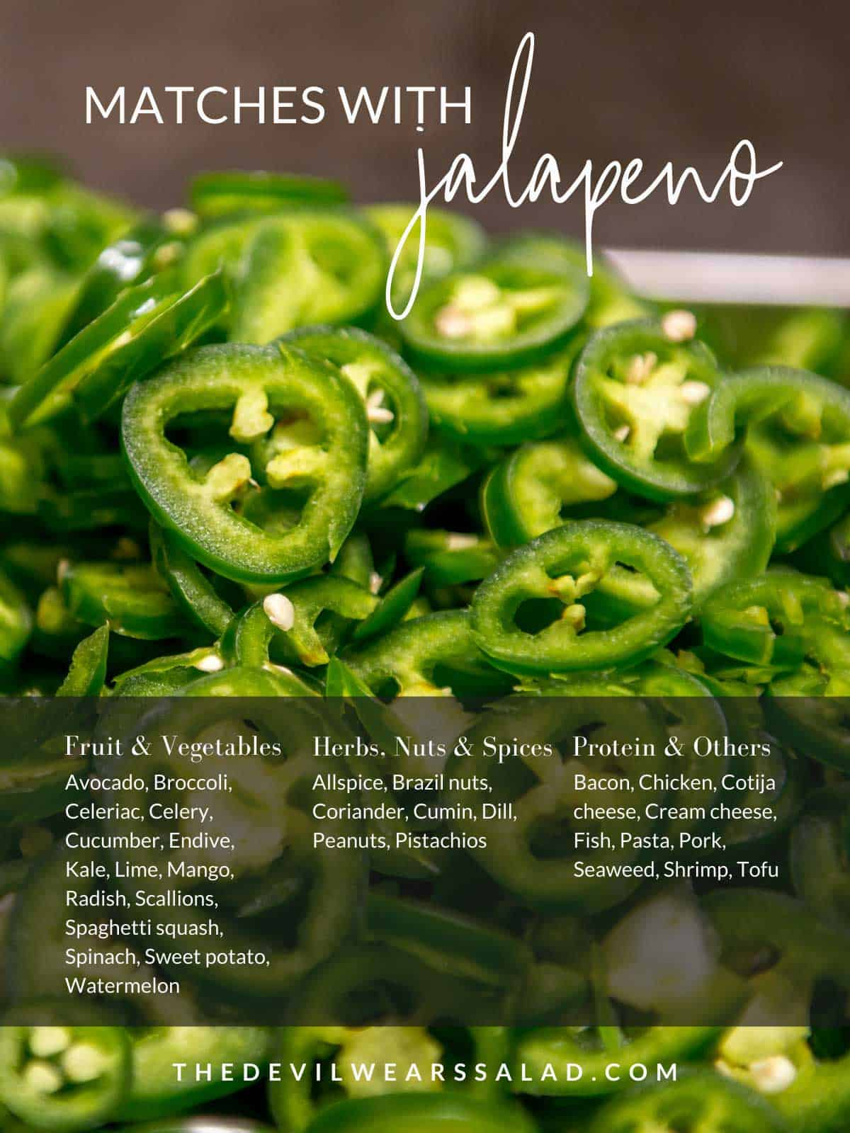 What Goes with Jalapeno