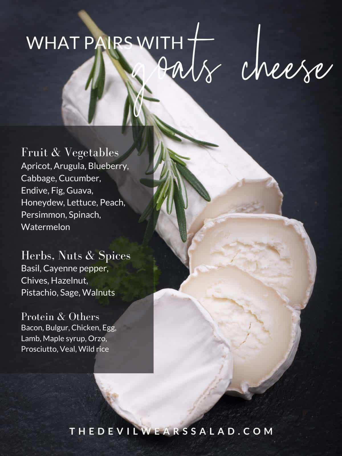 What Goes with Goat Cheese