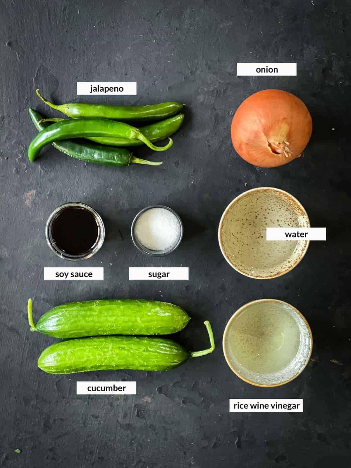 Korean Pickles in Soy Sauce - Jangajji Ingredients