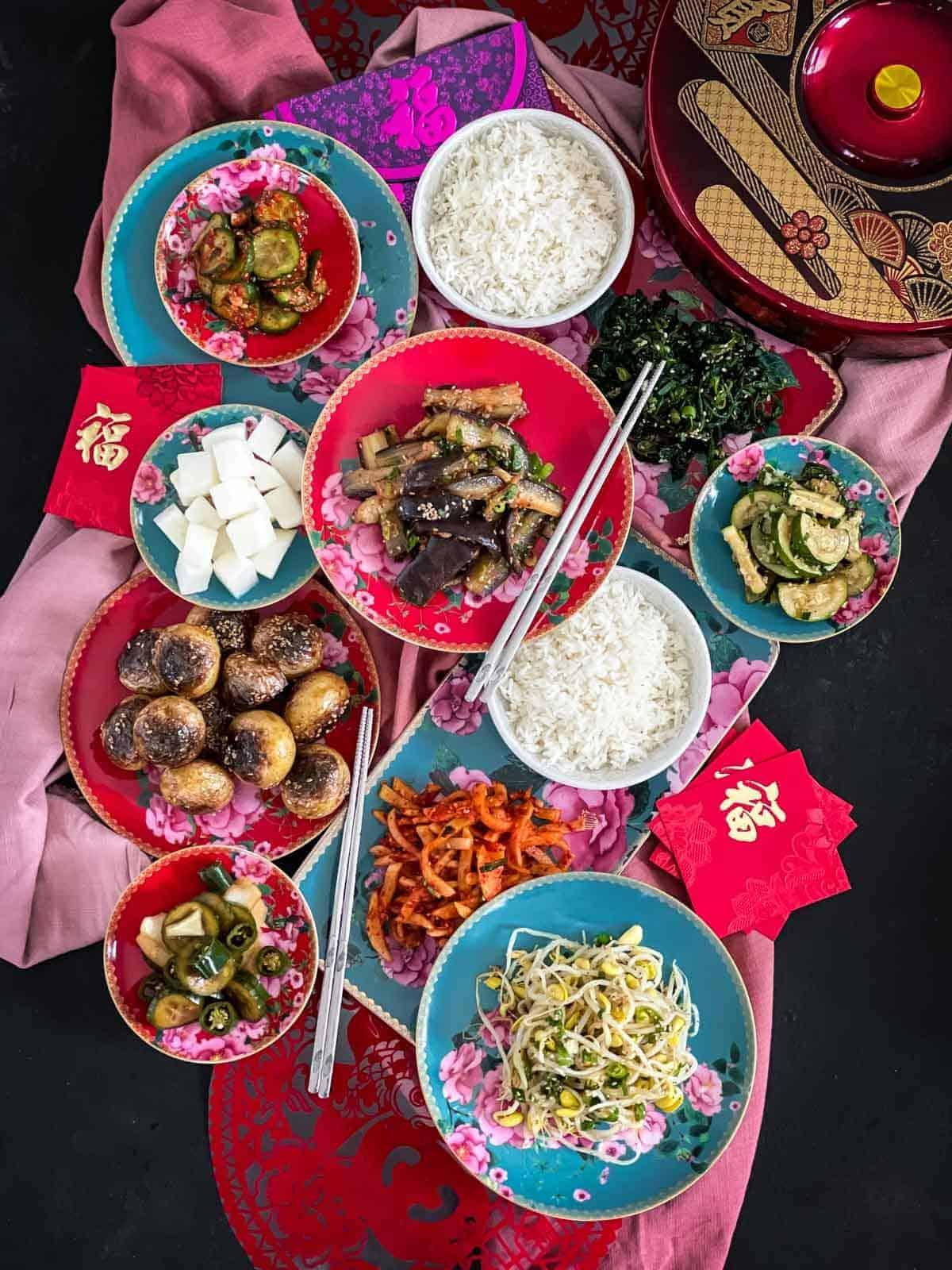 Korean Side Dishes Recipes - Banchan