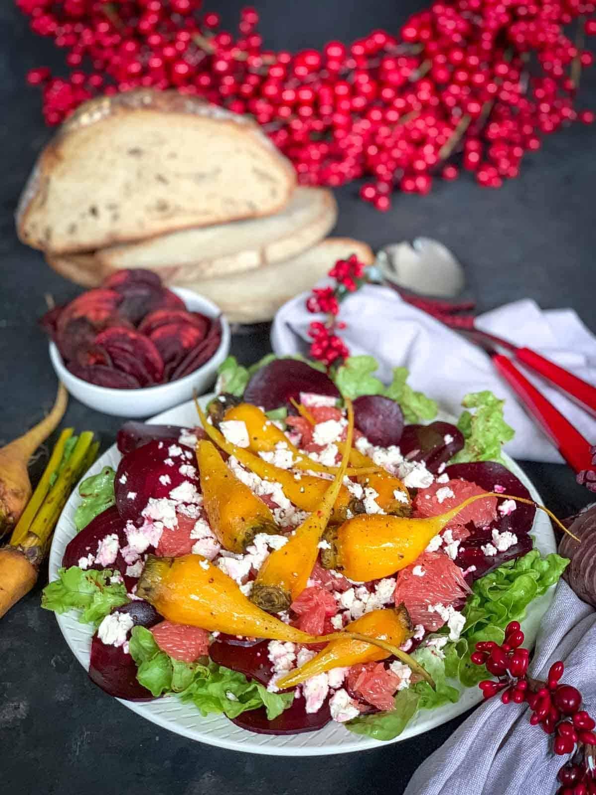 Christmas Beetroot and Feta Salad