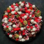 Christmas Fruit Platter: Chocolate Salad