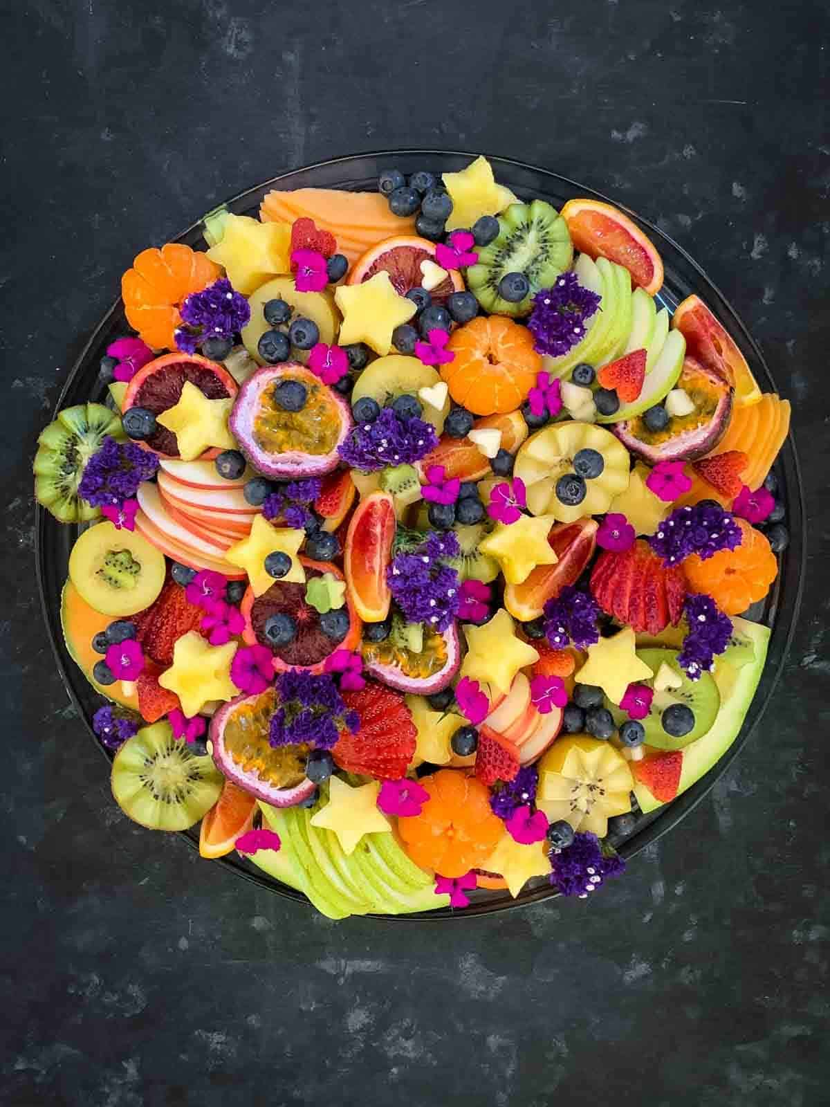 Fruit Platter Presentation Ideas