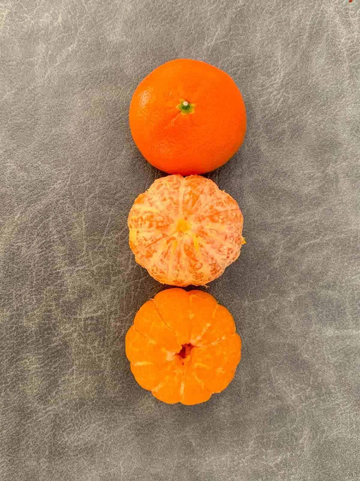 How ot pith mandarin orange for fruit platter