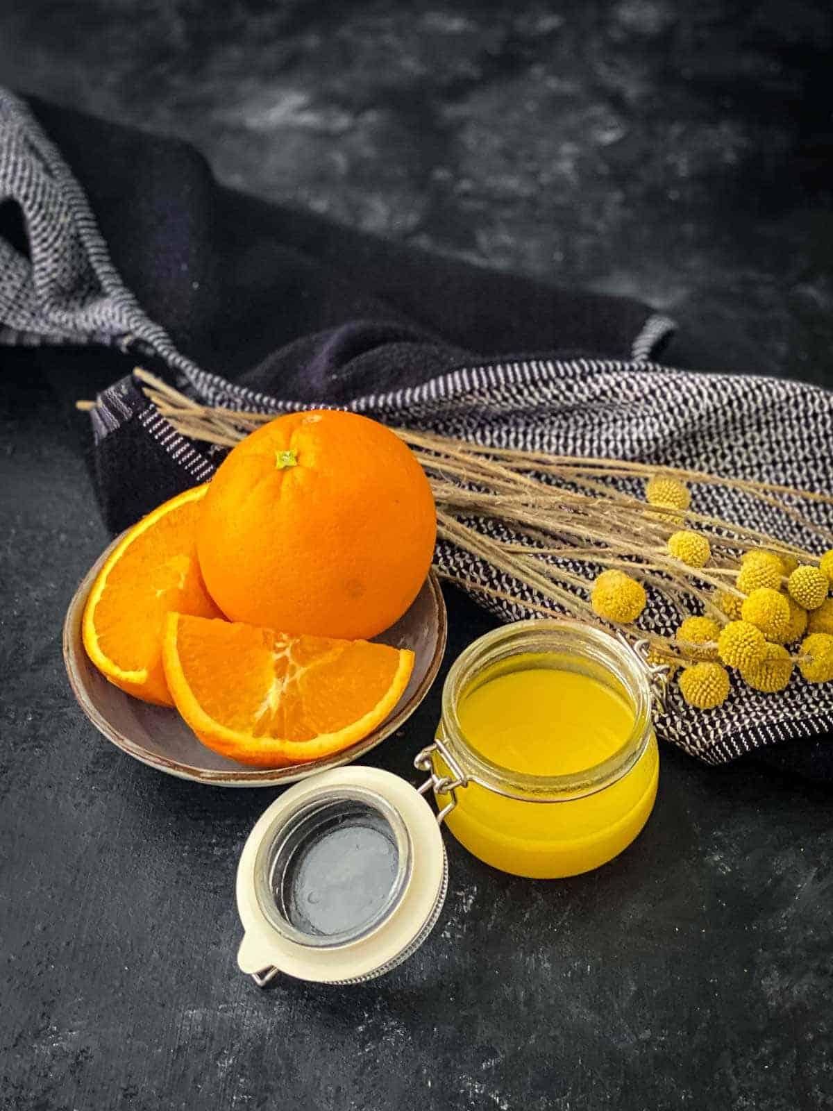 maple orange salad dressing